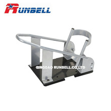 China Manufacturer Portable Adjustable Motorcycle Wheel Chock Support Stand