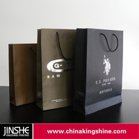 Customized recycle Kraft paper bag food grade brown paper bag