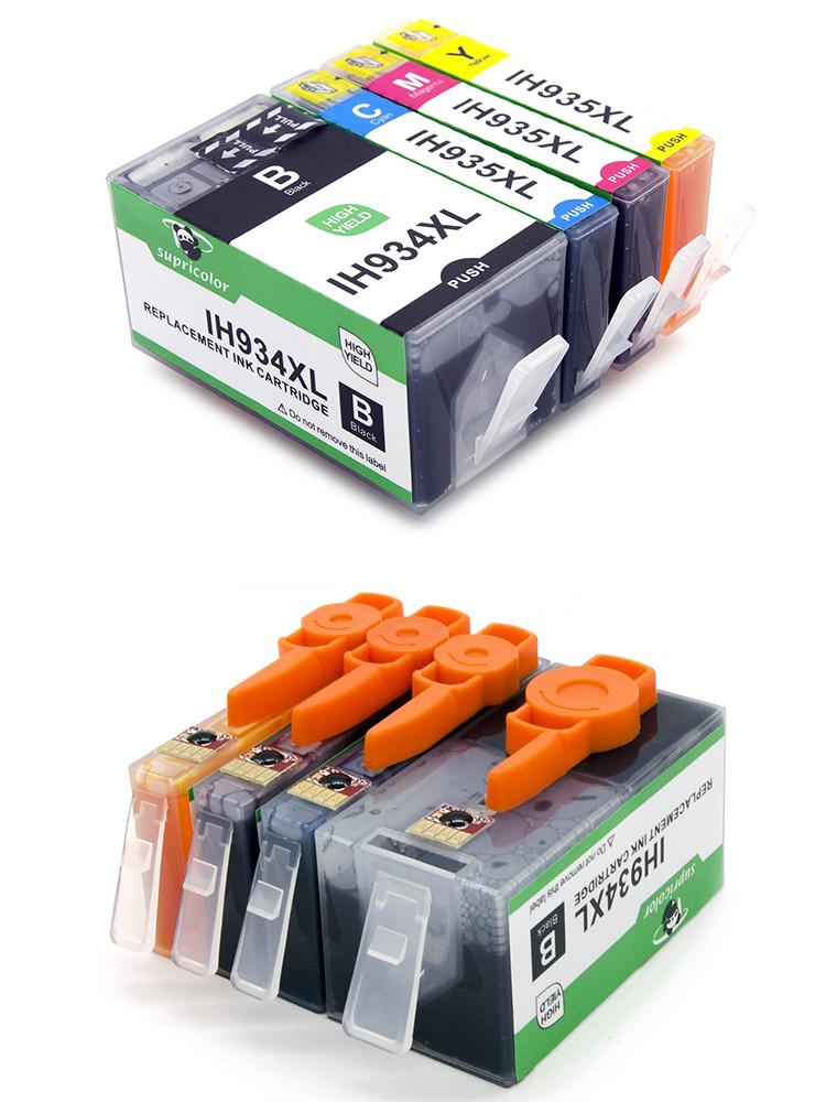 Compatible for hp 934 hp 935 printer ink cartridge with auto reset chip