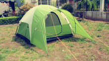 3-4 Persons Waterproof Camping Tent with Fiberglass Pole