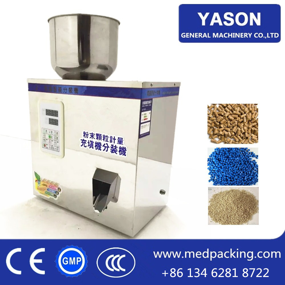 2-100g High Accuracy Rice Powder Salt Sugar Weighing and Filling Machine