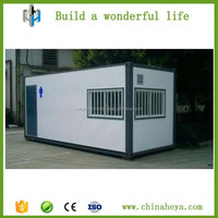 EPS Neopor Fireproof Green Mobile Demountable Toilet Container