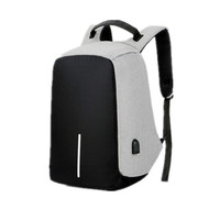 Unisex Big Capacity Laptop Backpacks Sports School Business Laptop Anti-theft USB Backpack