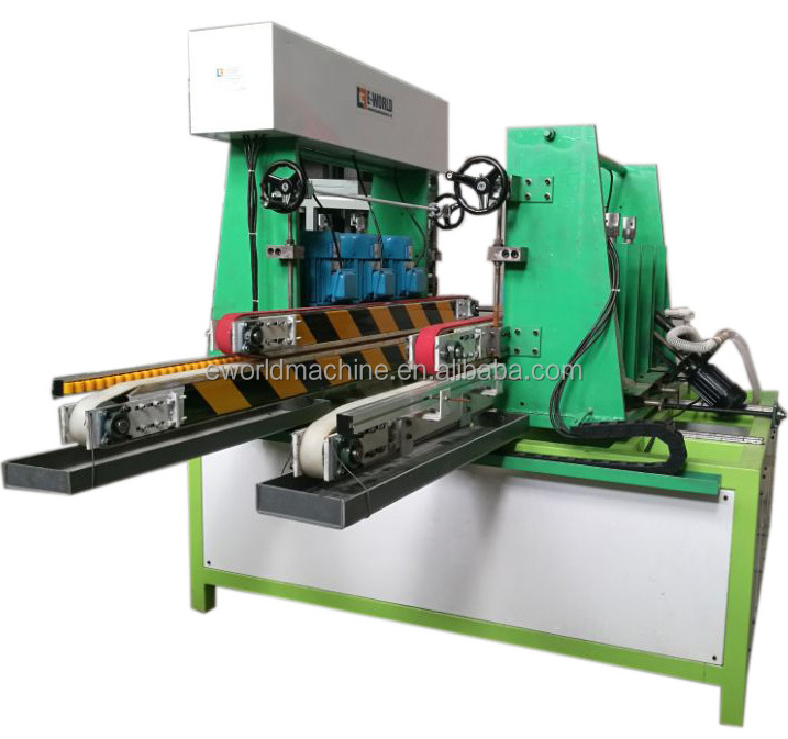 flat glass double side edging and polishing machine