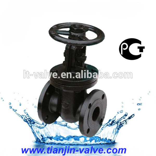 PN10 DN300 GOST metal seat non-risng stem gate valve