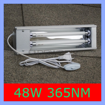 365nm High Power 48W UV lamp For Mobile LCD UV Glue Dryer Nail Gel Curing Light