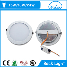wholesale positive light Luminous evenly 230v 18w led downlight