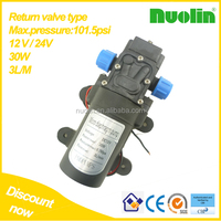 NUOLIN 30w 3LPM dc 12v mini high pressure electric water pump