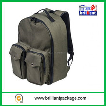 Classic Style Cheaper Army Green Tackle Box Backpack