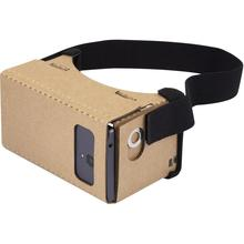 Free to send samples best 3d vr 1.0 glasses google cardboard gift box Company souvenirs