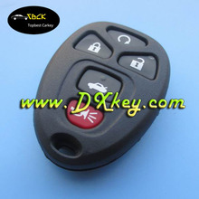 Shock price car key with 5 button for car remote key cover GM key shell
