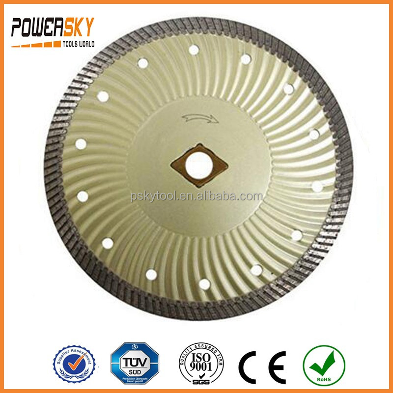 7 Inch Continuous Wide Turbo Diamond Saw Blades