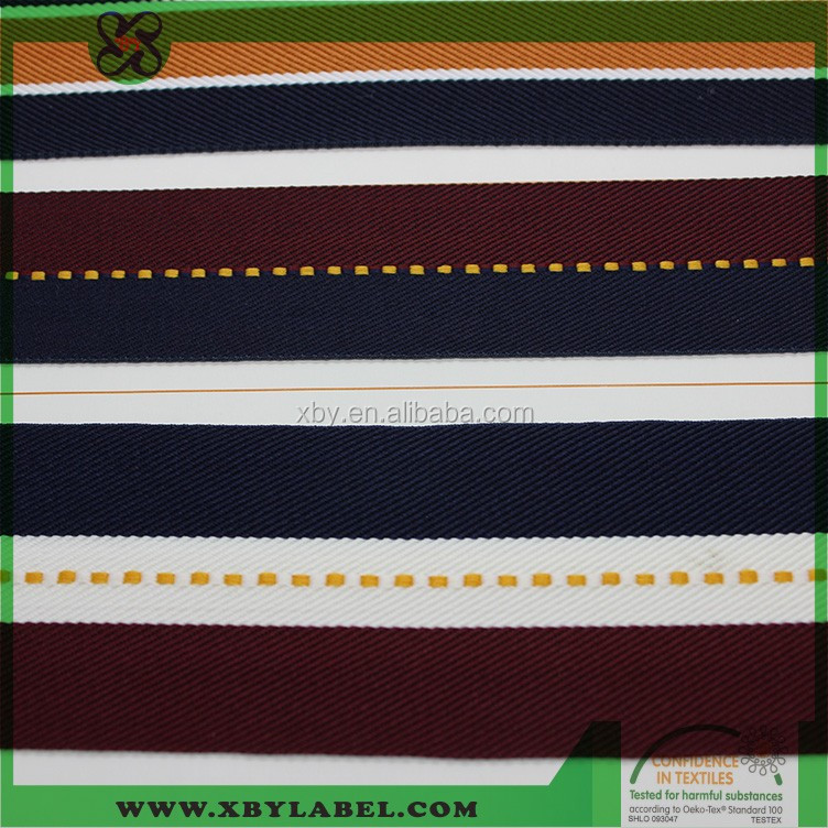 custom colourful woven webbing /ribbon for gift
