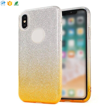 0.5mm Ultra thin And Light Flash Paper Soft TPU Cell Phone Back Cases Cover For Iphone x
