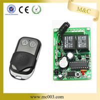 wireless RF remote control/ transmitter receiver for gate automation system/motor controller