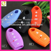 Best personal decoration fashion silicone car key cover case for honda/buick/nissian/vw/ford/bmw