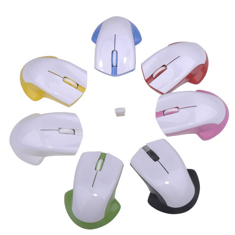 Heat transfer wireless mouse any logo can printed high-tech wireless mouse DIY wireless mouse
