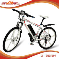 SOBOWO S2-2 full suspension china trinx city electric bike