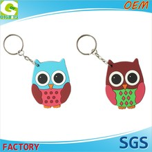 OEM 2D Or 3D Custom Promotion Pvc Manufactures Keychains Metal