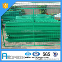 galvanized flat panel fence gates with certificate