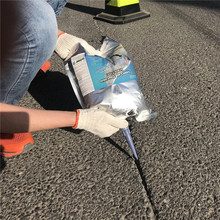 Go Green Asphalt Crack Filler in bag for pavement cracks repair / cold applied crack sealant