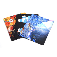 Multi Type Soft Microfiber Rubber Fabric Mouse Pad With Custom Logo