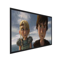 Updated Cheapest customize 150inch manual projector screen