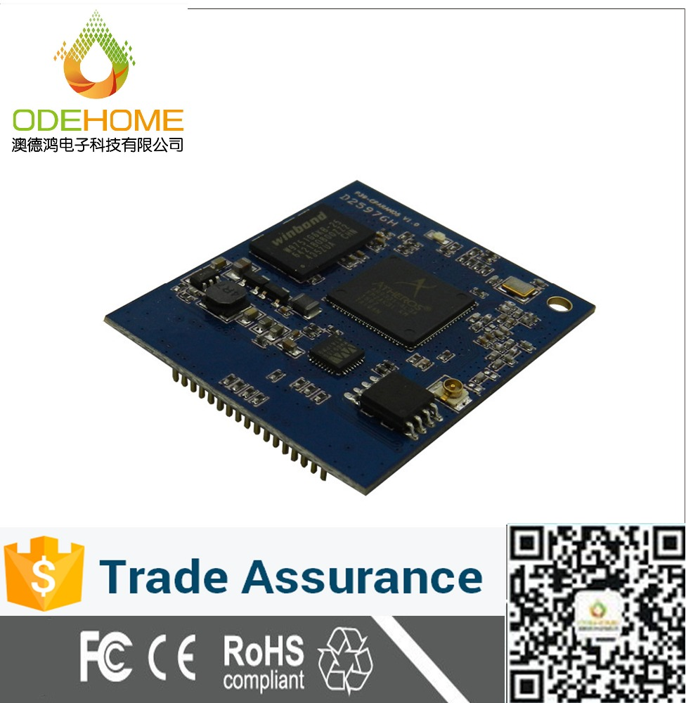 ODM&OEM Wireless Wifi Router AR9331 Atheros Module
