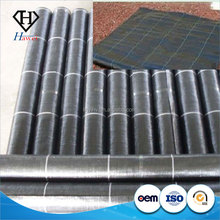 Cheap Eco-friendly pp Woven Fabric Garden Weed Control Mat