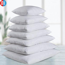 Wholesale 100% cotton white plain covers cushion for sofa/bed/office
