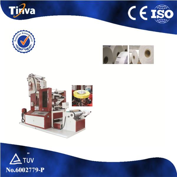2017 NEW DESIGN! Mini Film Blowing Machine With Two Colors Flexo Printing Unit