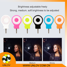 2016 Cheap cell phone led selfie flash lighting Fill-in lights For IOS and Andriod