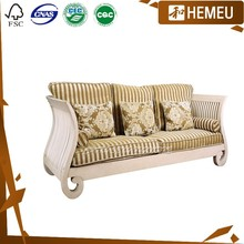 SF3010- Factory hand carve sofa set solid wood furniture manufacturers