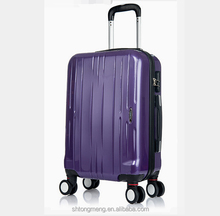 hot sale fashion decent durable high quality travel trolley spinner TSA lock luggage suitcase set