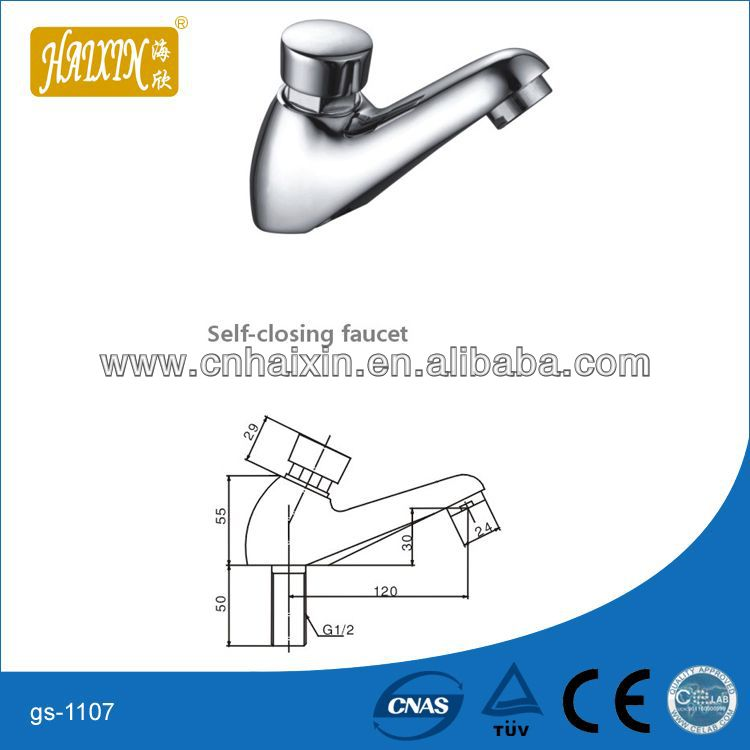 Time Delay Basin Faucet