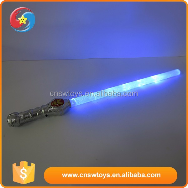 Wholesale customized plastic children funny hot sale swords with light
