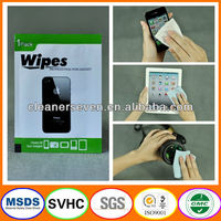 Disposable Custom Wet Wipes, Glass Wipes