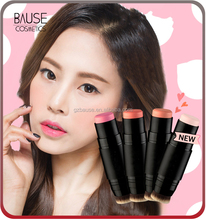 Private label blush stick blusher blushes cosmetics for cheek