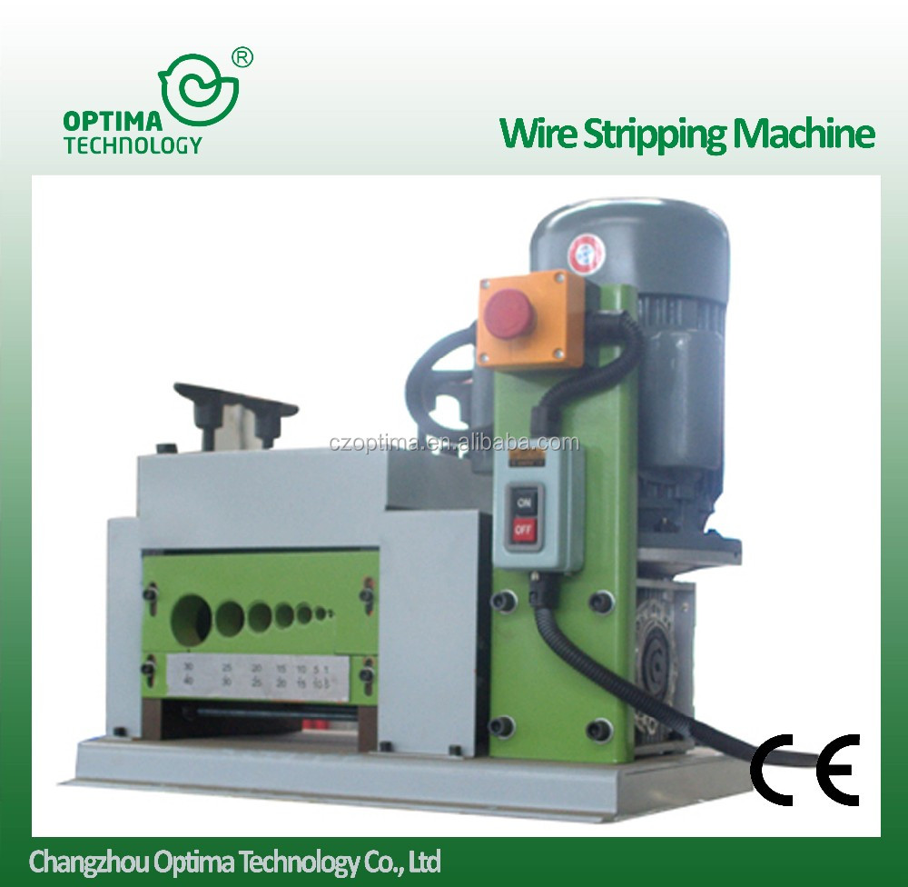 recycling plant for stripper /separating machine 2-100mm cable making equipment