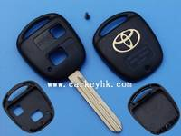 Hot sale Toyota Toy41 2 buttons remote key shell with toyota smart key