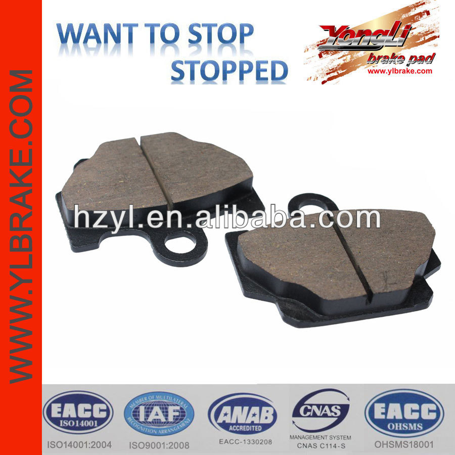 brake part quality brake pads production process