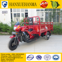 best sell 300cc 400cc 800cc carry heavy cargo tricycle with cabin in Peru