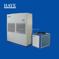 Air to water air conditioning unit for home use