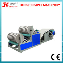 Jumbo Roll Kraft Paper Slitter Rewinder Machine For Making Toilet Paper Core