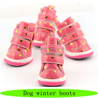 Dog winter boots, pet fashion accessory, pet the shoes lady