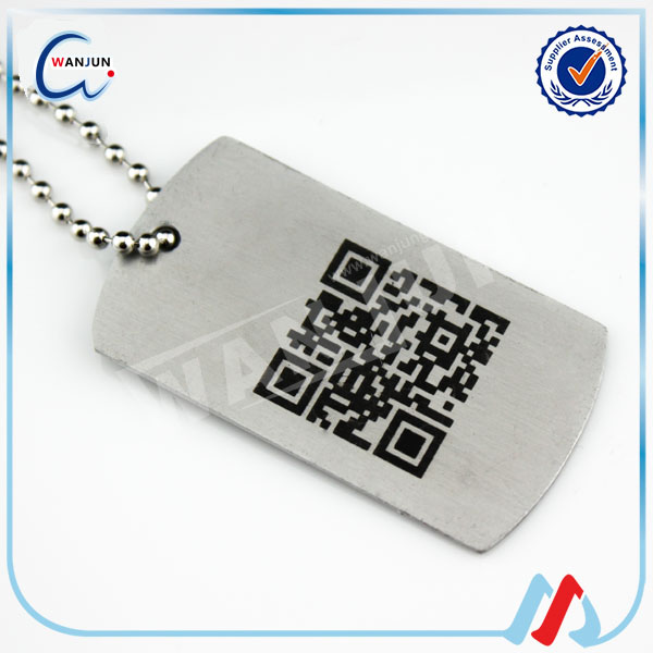 Qr Code Dog Tag Dt 98cheap Qr Code Dog Id Tag For Pets Wholesale Pet Id