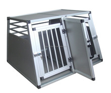 2016 Alu Transport Pet Cage with double doors