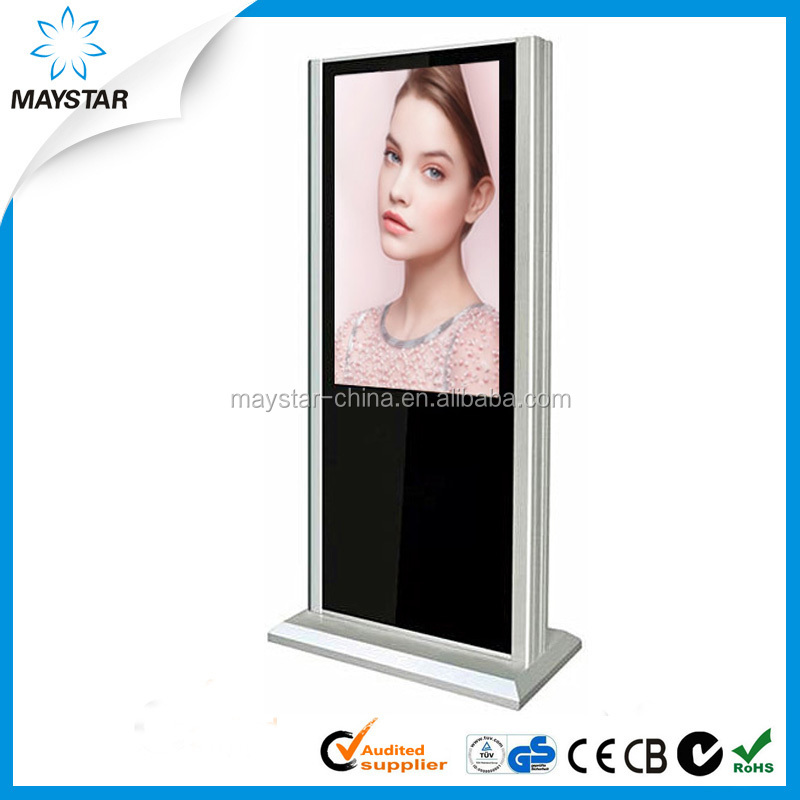 2016 new design TFT Type LCD Advertising panel For mall and shop