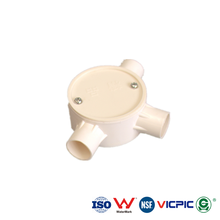 DIN ISO pvc electrical pipe accessories boxes