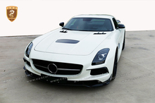 C197 model 2010-2014 year car covert to black-serie style body kit for mercede-bens sls series